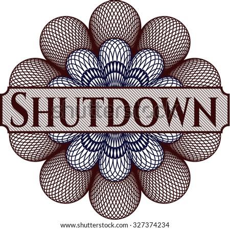 Shutdown linear rosette