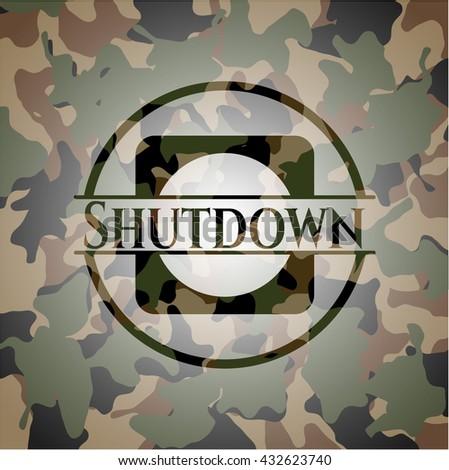 Shutdown on camo pattern