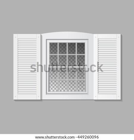 shutter window.