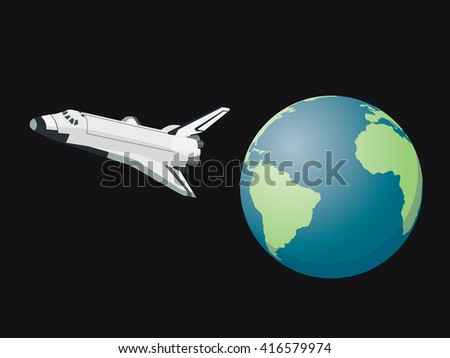 shuttle space leave world