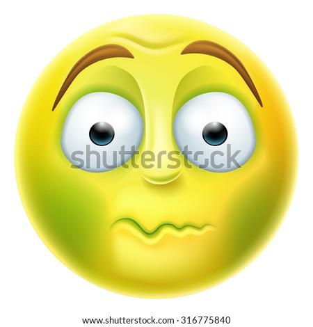 🤢 Nauseated Face Emoji on Emojipedia 3.0