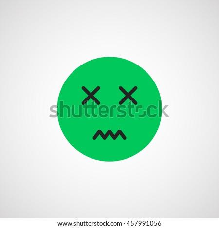 🤢 Nauseated Face Emoji