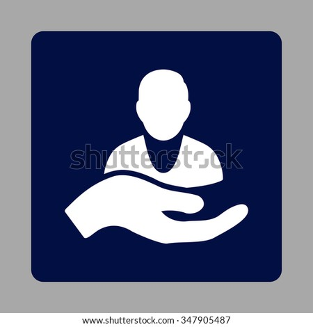 sickness assistance vector icon