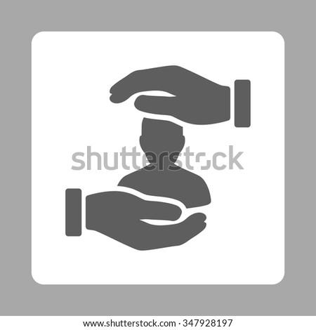sickness insurance vector icon