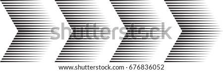 sideways set  linear signs