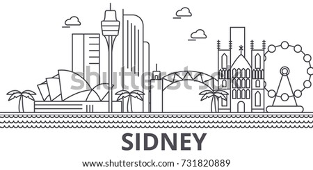 sidney architecture line