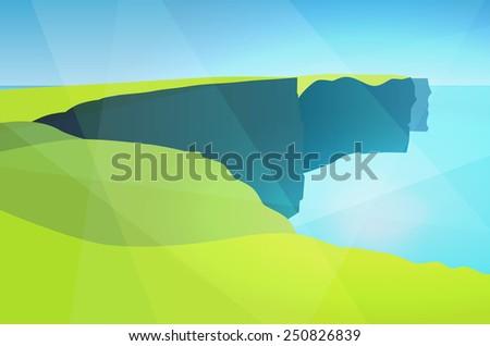 sight of ireland  cliffs of
