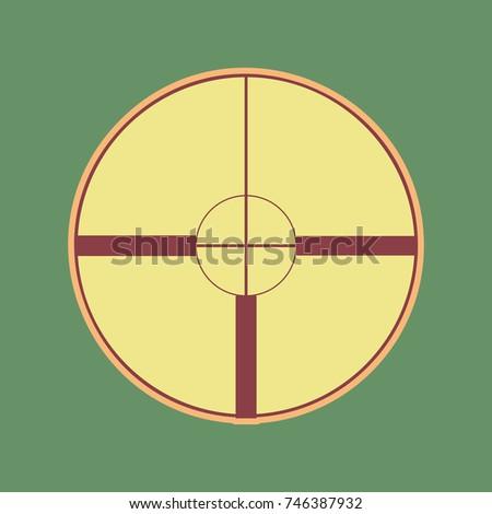 sight sign illustration vector