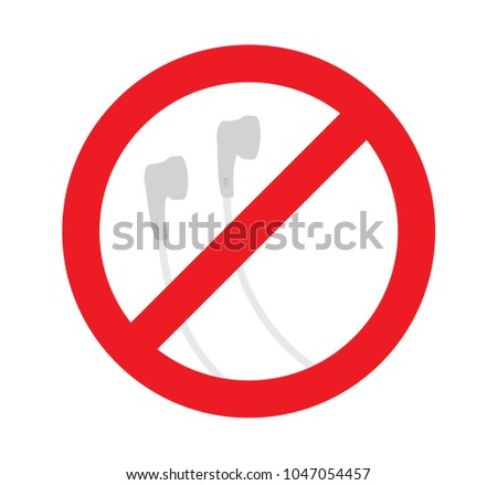 sign of no used earbud  dont