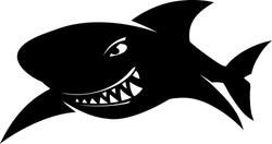 Sign sharks, illustration