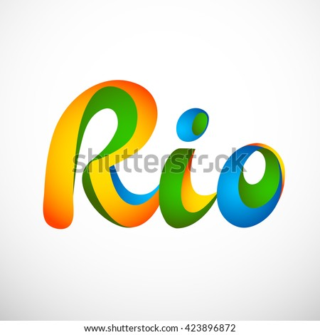 sign symbol rio olympics games