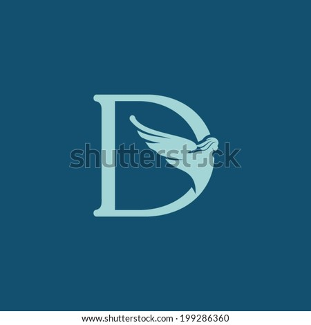 sign the letter d branding