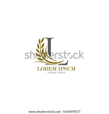 sign the letter l branding