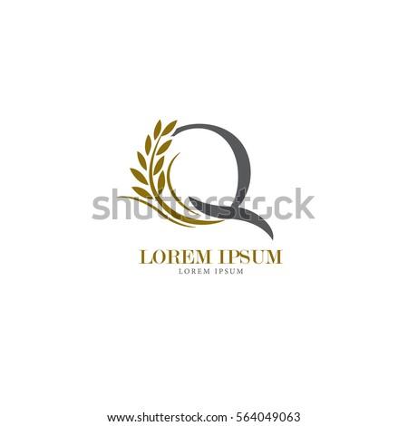 sign the letter q branding