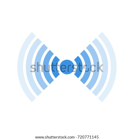 Signal icon. Vector illustration. Isolated.