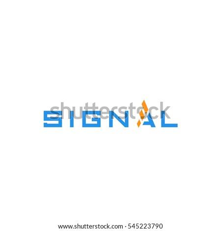 signal logo vector eps