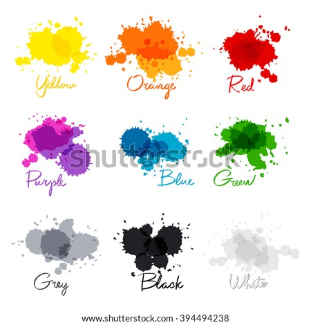 signed the names of colors