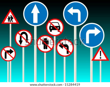 signs for traffic