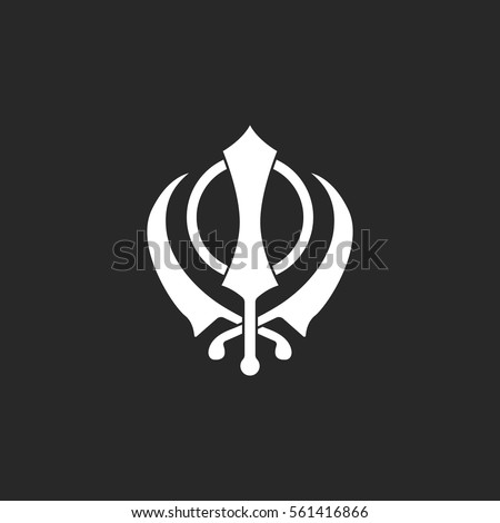 sikhism religion khanda symbol