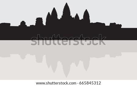 Angkor wat vector free download.