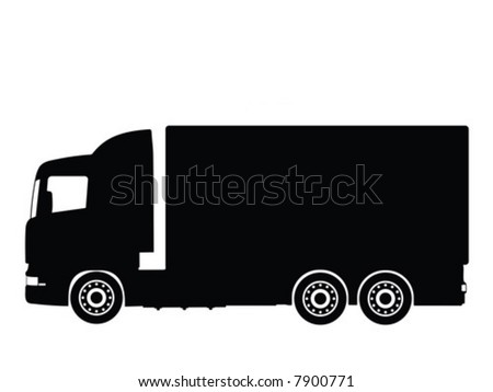 Awesome free vector truck images