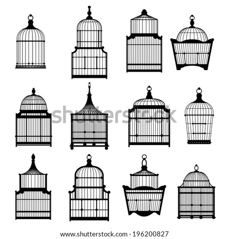 silhouette birdcages collection