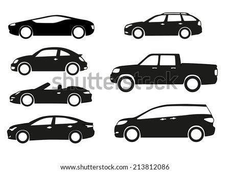stock-vector-silhouette-cars-on-a-white-background