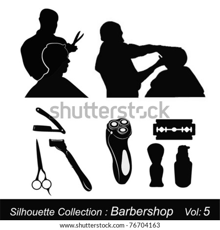 Silhouette Collection : Barbershop