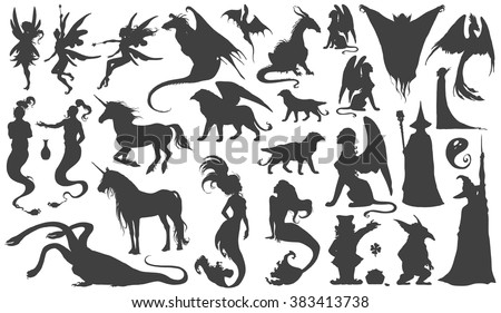 silhouette collection of