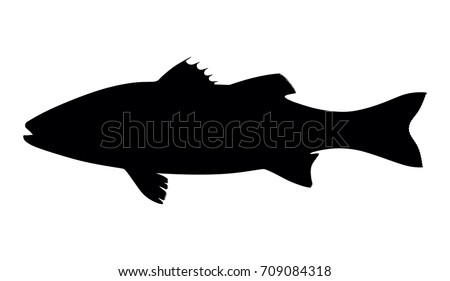 free fish silhouette vector download free vector art stock rh vecteezy com  bass fish silhouette vector free