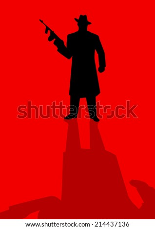 silhouette illustration of a