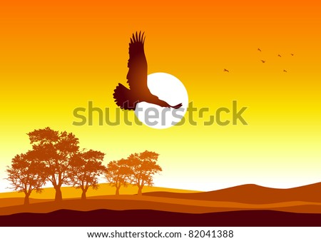 silhouette illustration of an