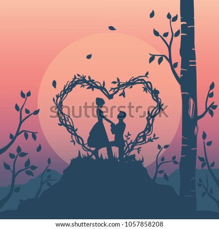 silhouette illustration of