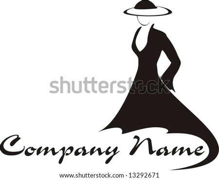 stock-vector-silhouette-of-a-beautiful-w