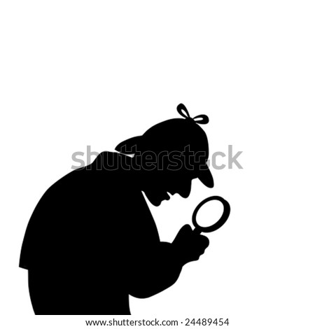 Detective Magnifying Glass Photo