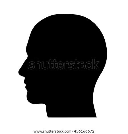 SIlhouette of a head