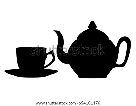 free teapot silhouette download free vector art stock graphics