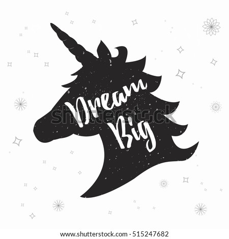Vector Images Illustrations And Cliparts Silhouette Of A Unicorn
