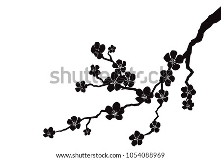 silhouette of apple or cherry