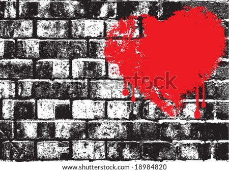 silhouette of brick wall vector