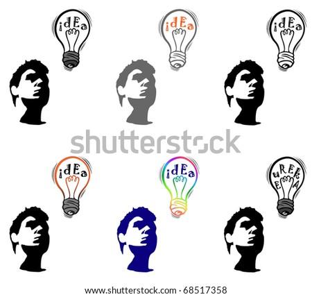 silhouette of face stranger