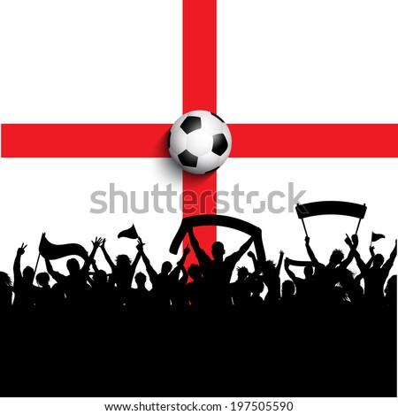 silhouette of football   soccer