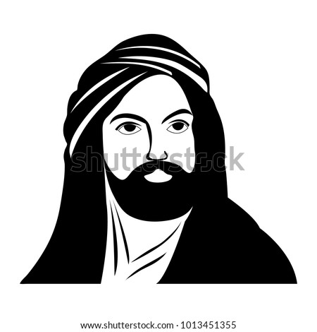 silhouette of imam ali  the