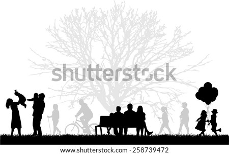 stock-vector-silhouette-of-people-on-the-outside