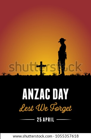 silhouette of soldier paying
