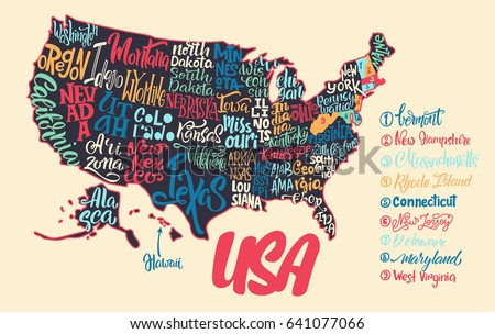 Iowa State Lettering Download Free Vector Art Stock Graphics - Iowa state in usa map