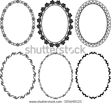 Marcos Rococo in addition 510525307745420076 further Rond Cadre Mariage Anneaux 7850307 moreover Gemstone Shapes Vector 271137 moreover Symmetrical Floral Design Element 18069864. on vintage frame