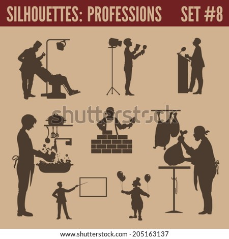 silhouette people collection