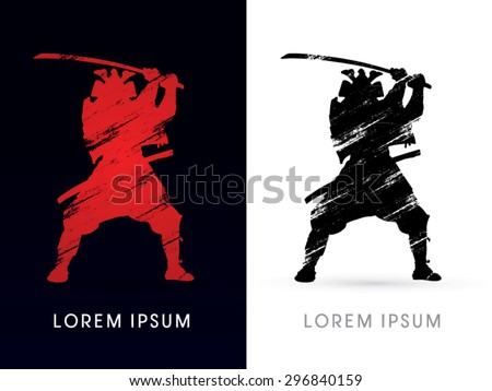 silhouette  samurai warrior
