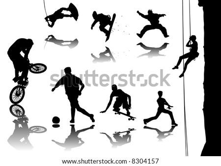 логотипы видов спорта